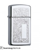 Zippo Slim Venetian High Polish Chrome