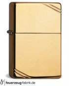 Zippo Vintage Brass High Polished